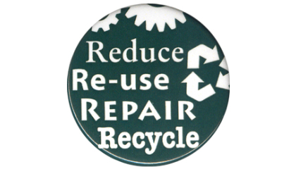 Recycle, Reuse, Reduce, and Repair